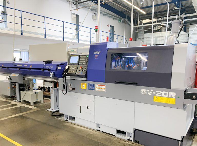 New machinery at amo-tec