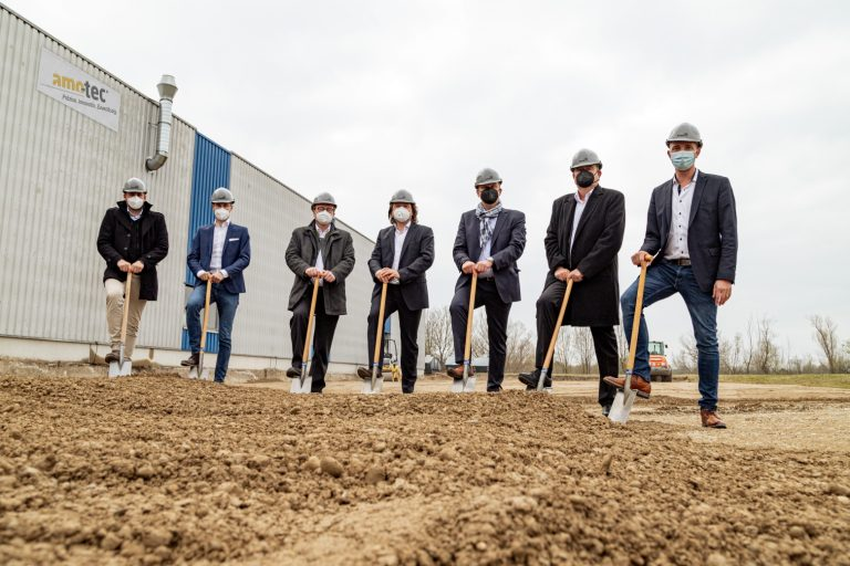 We are expanding even more – official ground-breaking ceremony